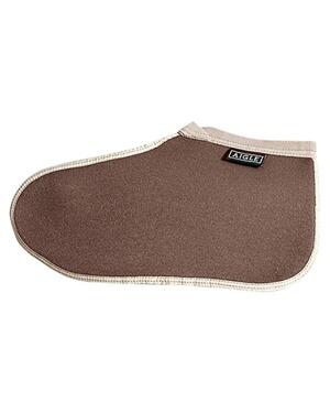 aigle chaussons pour bottes caoutchouc marron protection contre la pluie v tements de. Black Bedroom Furniture Sets. Home Design Ideas