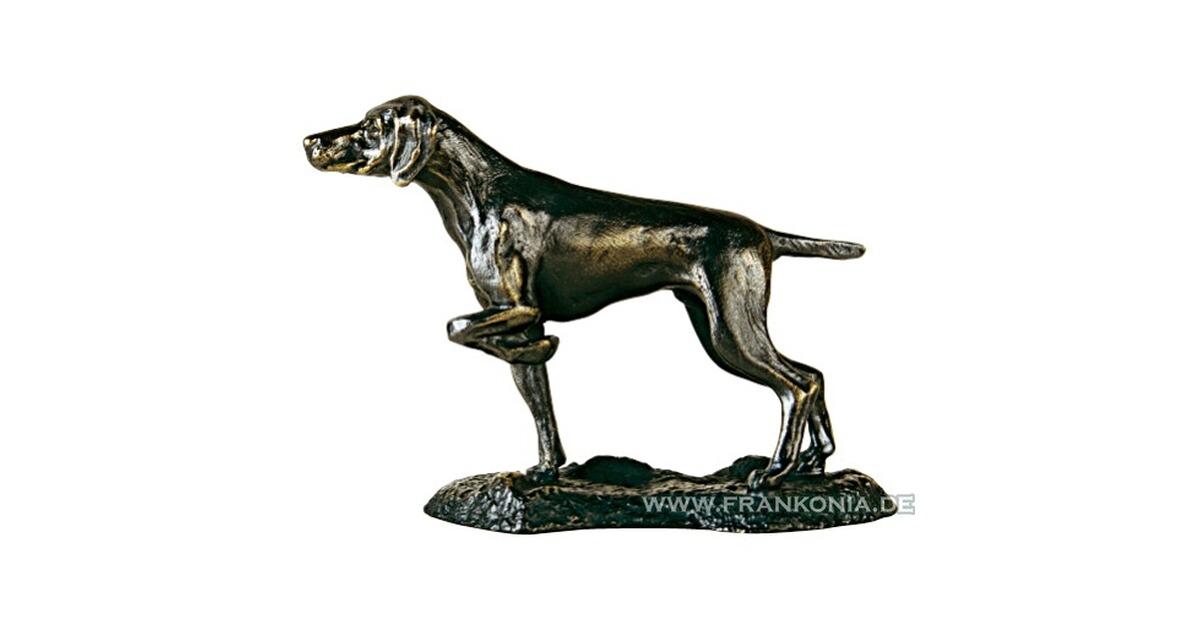 bronze animalier chien l arr t ambiance chasse maison et famille equipements boutique. Black Bedroom Furniture Sets. Home Design Ideas