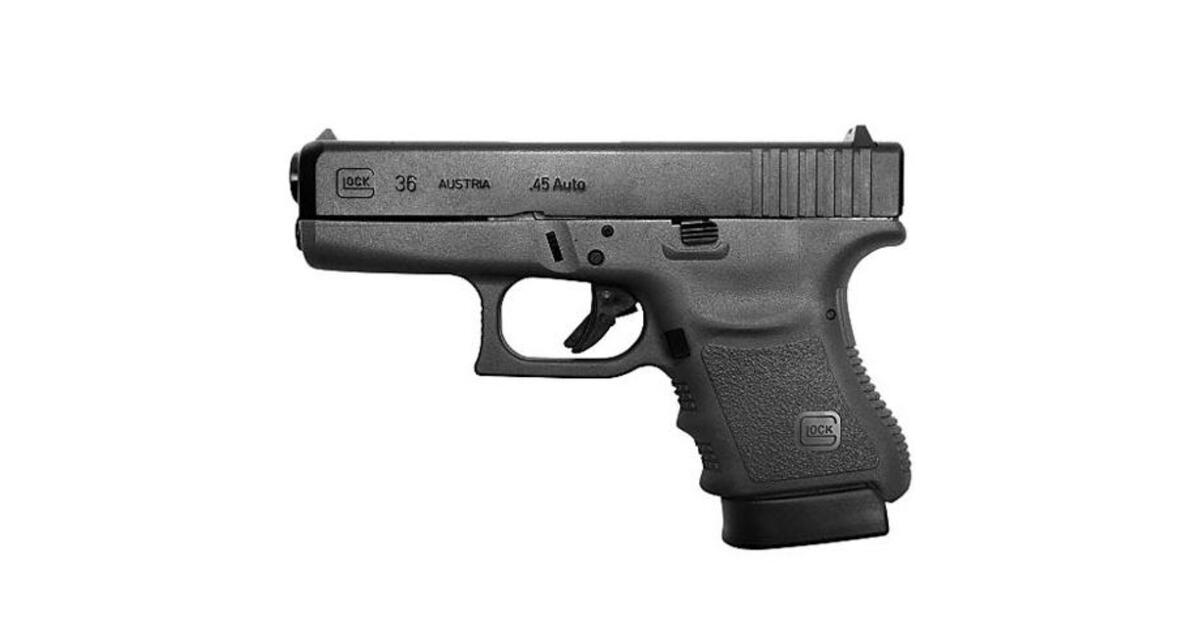 pistolet glock 36 calibre 45 acp pistolets armes de poing armes boutique en ligne. Black Bedroom Furniture Sets. Home Design Ideas