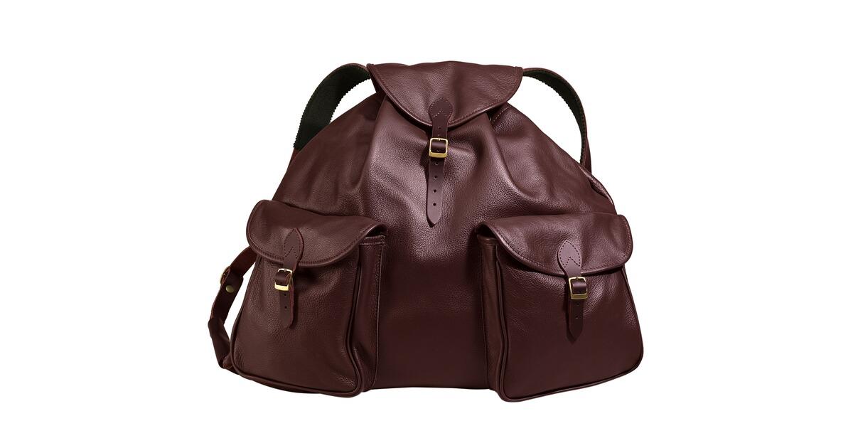 sac dos classique en cuir tann sacs dos sacs accessoires pour la chasse equipements. Black Bedroom Furniture Sets. Home Design Ideas