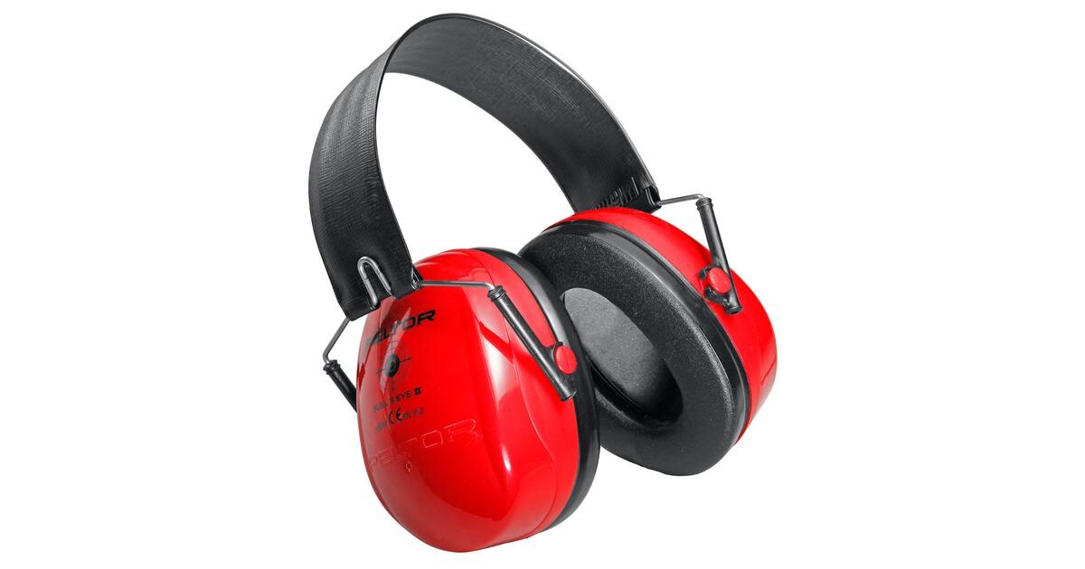 3m peltor casque anti bruit bull 39 s eye rouge couleur rouge casques anti bruits et bouchons. Black Bedroom Furniture Sets. Home Design Ideas