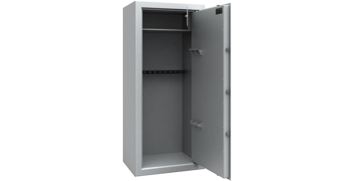 iss armoire forte bad t lz 10 armes version gris. Black Bedroom Furniture Sets. Home Design Ideas