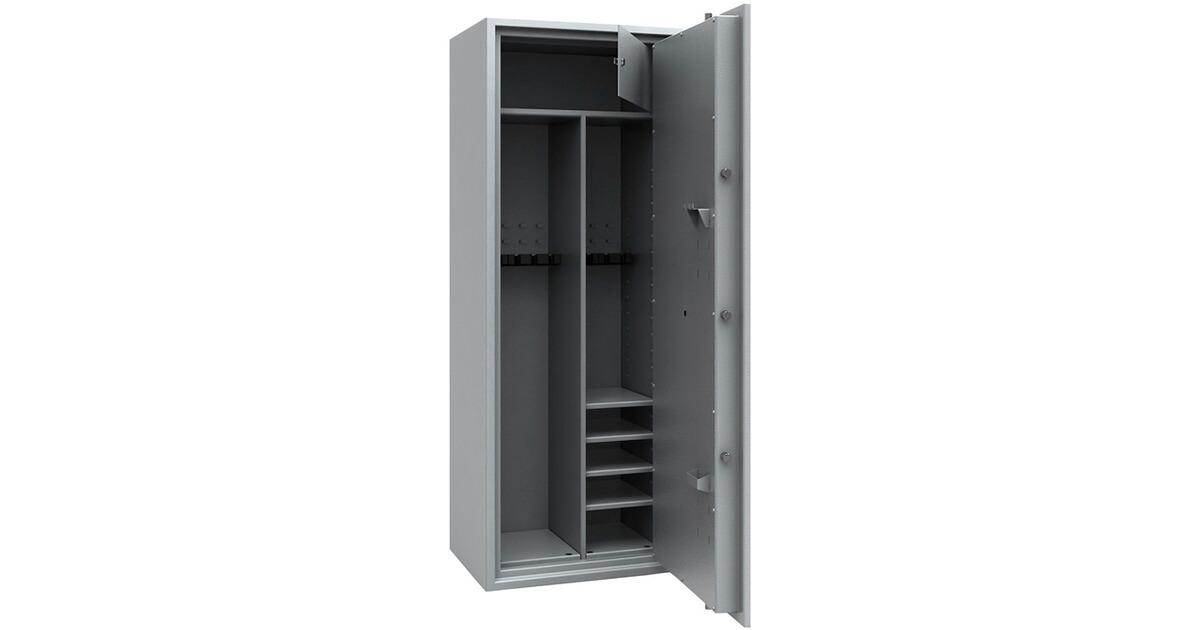 iss armoire forte multi usages classe1 version gris. Black Bedroom Furniture Sets. Home Design Ideas