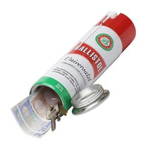 Ballistol bombe d 39 huile universelle ballistol avec for Meuble avec cachette secrete