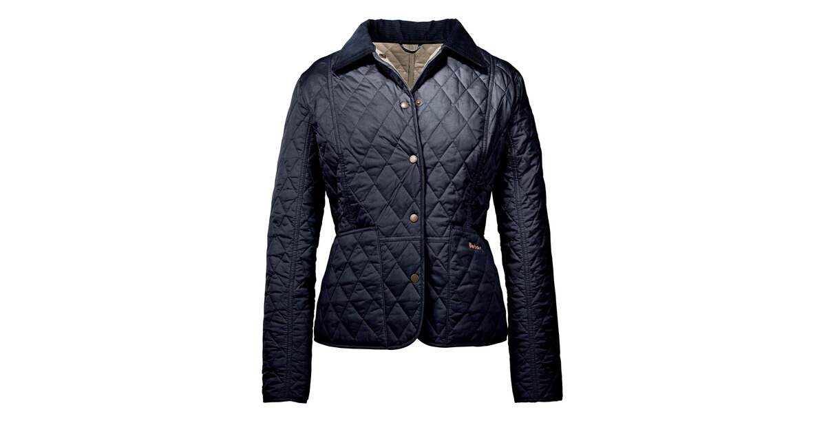 barbour veste matelass e pour femme liddesdale bleu vestes v tements de chasse femme. Black Bedroom Furniture Sets. Home Design Ideas