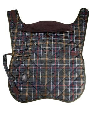 barbour veste pour chien tartan dog coat multicolore barbour textile boutique en ligne. Black Bedroom Furniture Sets. Home Design Ideas
