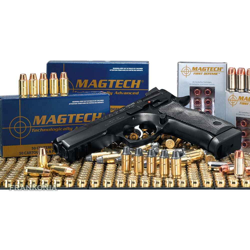 .7,65mm Browning, JHP (4,6gr), Magtech
