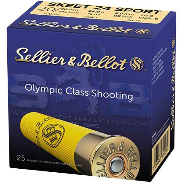 20/70, Sport Skeet Trap (24gr-2mm), Sellier & Bellot
