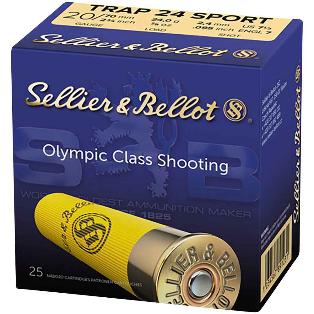 20/70, Sport Skeet Trap (24gr-2,4mm), Sellier & Bellot