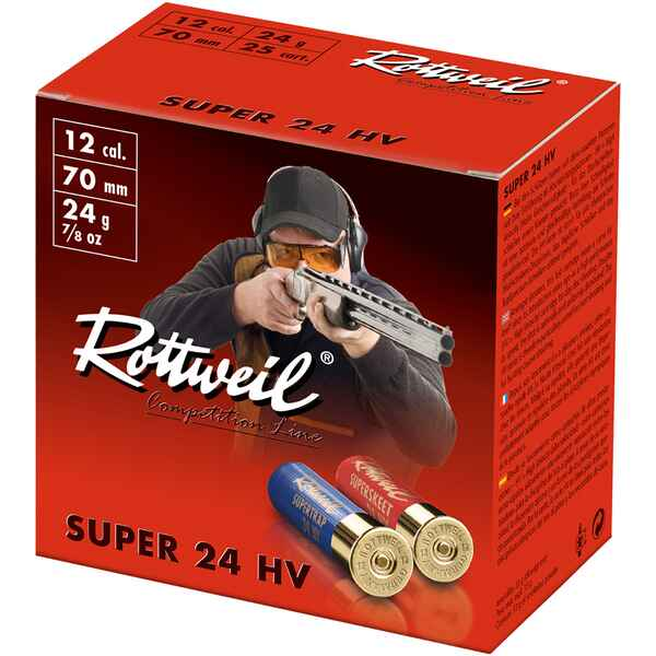 12/67,5, Superskeet 24 HV (24gr-2mm), Rottweil