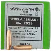 .264 (6,5mm), 131grs. Tlm, Sellier & Bellot