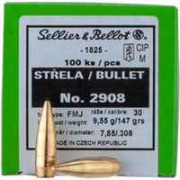 .308 (7,62mm), 147grs. Vlm BT, Sellier & Bellot