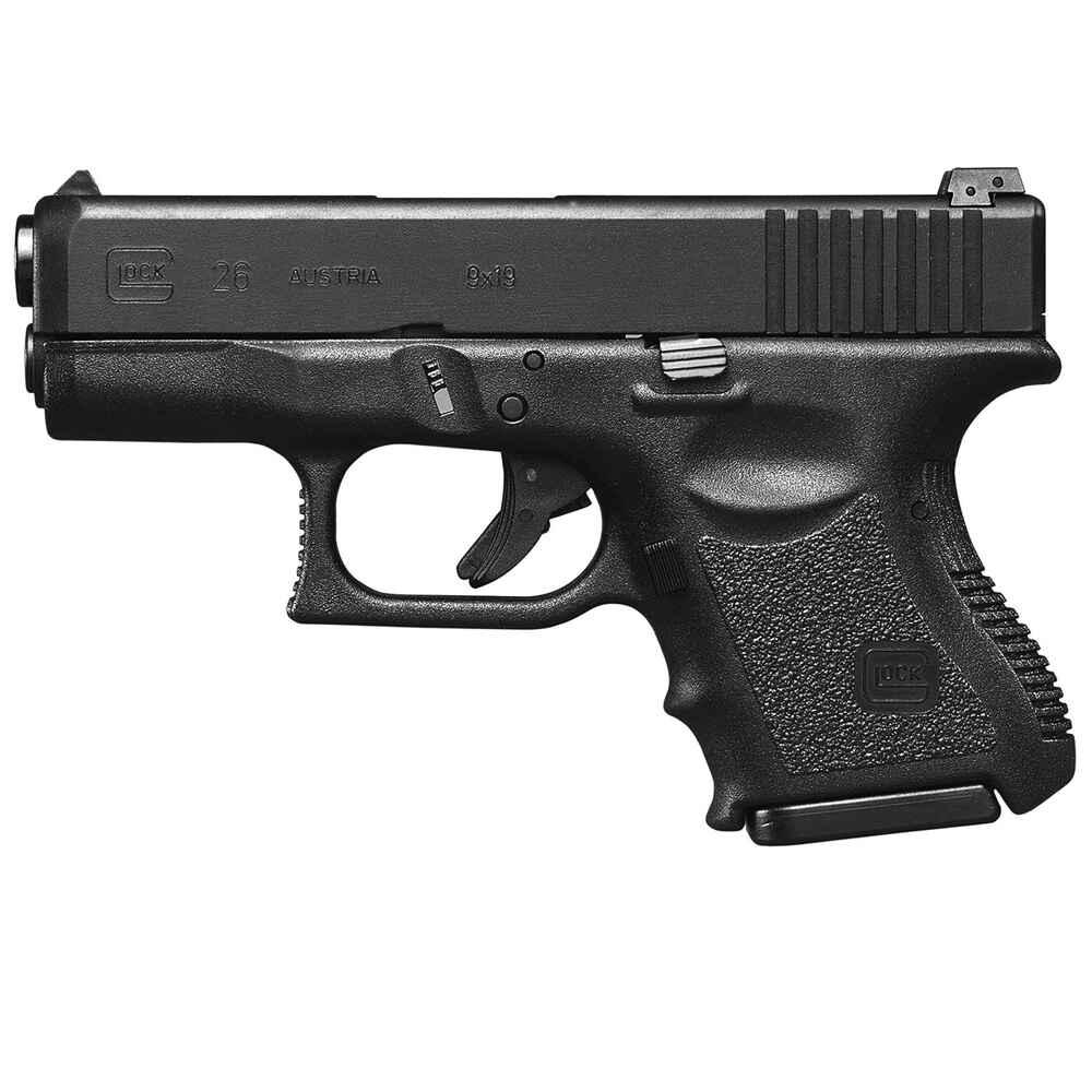 glock pistolet glock 26 calibre 9 mm luger pistolets armes de poing armes boutique en. Black Bedroom Furniture Sets. Home Design Ideas