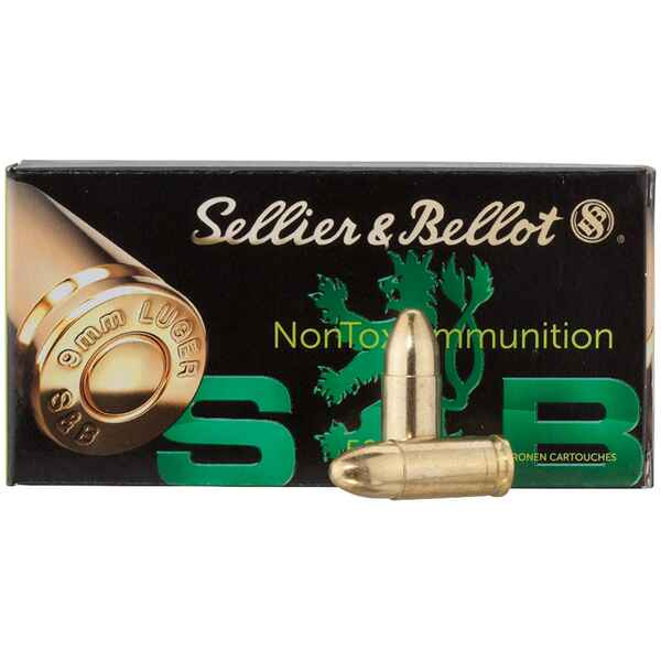 .9mm Luger, TFMJ-NT (8gr), Sellier & Bellot