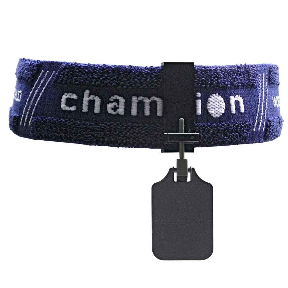 Champion bandeau avec cache oeil bleu accessoires tld tir longue distance tir - Cache nez decathlon ...