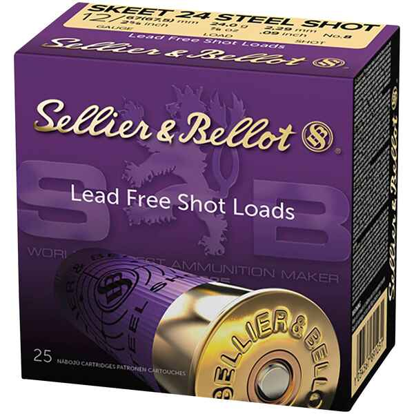 12/67,5, Steel Skeet Trap (24gr-2,3mm), Sellier & Bellot
