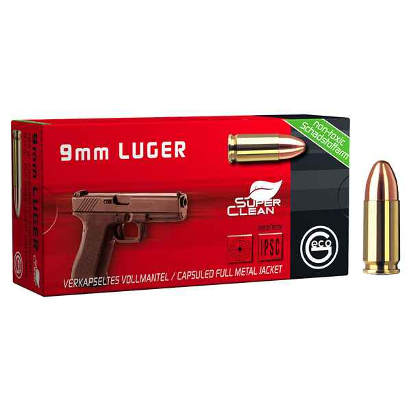 .9mm Luger, Vollmantel SX, Geco