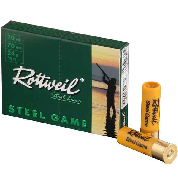 20/70, Steel Game High Velocity (24gr-2,6mm), Rottweil