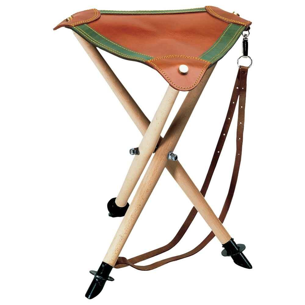 si ge tr pied assise en cuir haut 65cm cannes si ges pirsch accessoires pour la chasse. Black Bedroom Furniture Sets. Home Design Ideas