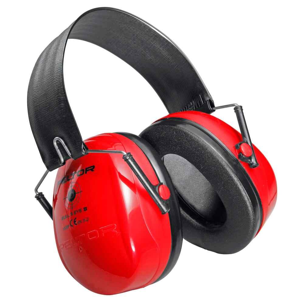 3m peltor casque anti bruit bull 39 s eye rouge casques anti bruits et bouchons accessoires. Black Bedroom Furniture Sets. Home Design Ideas