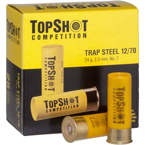 12/70, Trap Steel (24gr-2,5mm), TOPSHOT Competition