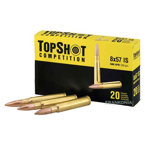8x57 IS, Boat Tail Holow Point (13gr), TOPSHOT Competition