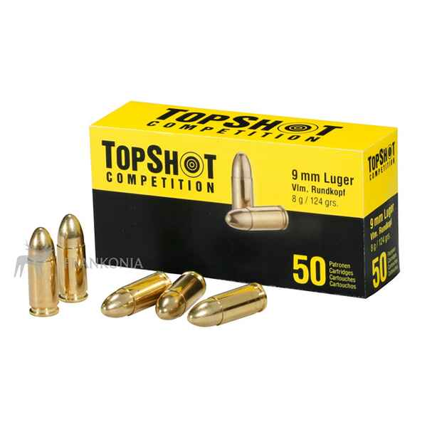 .9mm Luger FMJ (8gr), TOPSHOT Competition