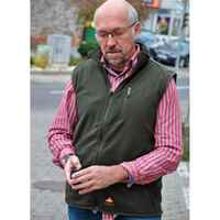 Gilet Fire-Fleece, Alpenheat