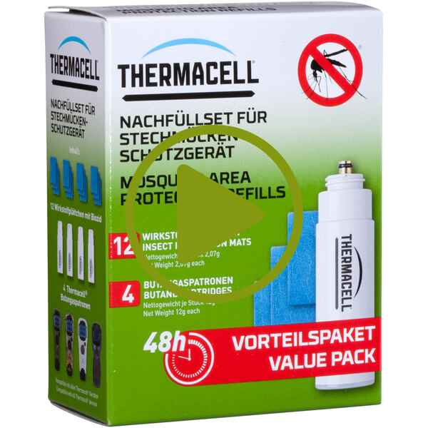 Pack de recharges thermacell 48 pces., Therma Cell