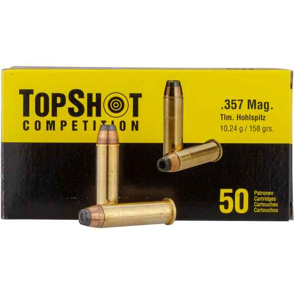 .357 Mag. HP 10,2gr, TOPSHOT Competition