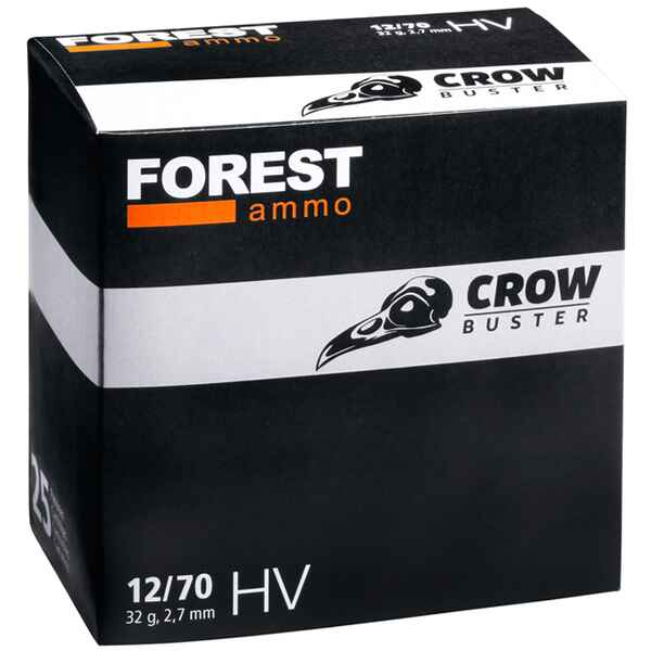 12/70, Forest Crowbuster 32g. HV 2,7mm, Forest Ammo