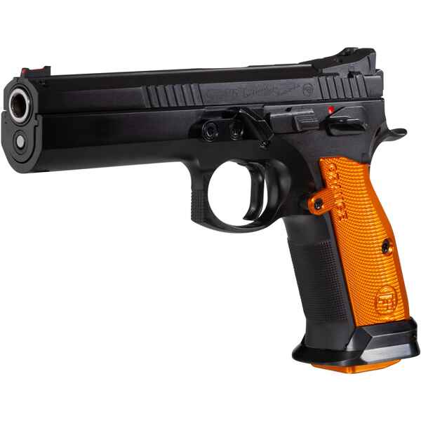 Pistolet cz 75 Tactical Sport orange calibre 9mm, CZ