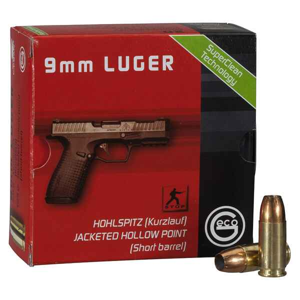 .9mm Luger HP 124grs., Geco