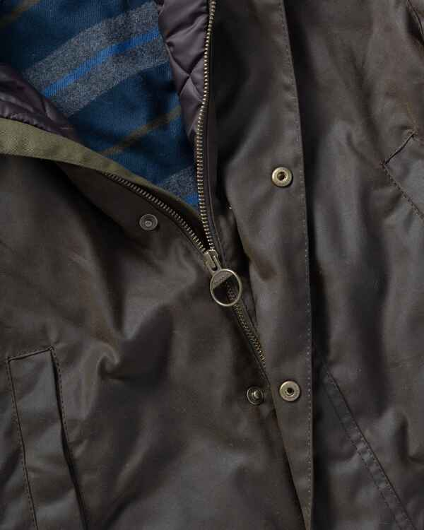 Veste Leeward Olive, Barbour