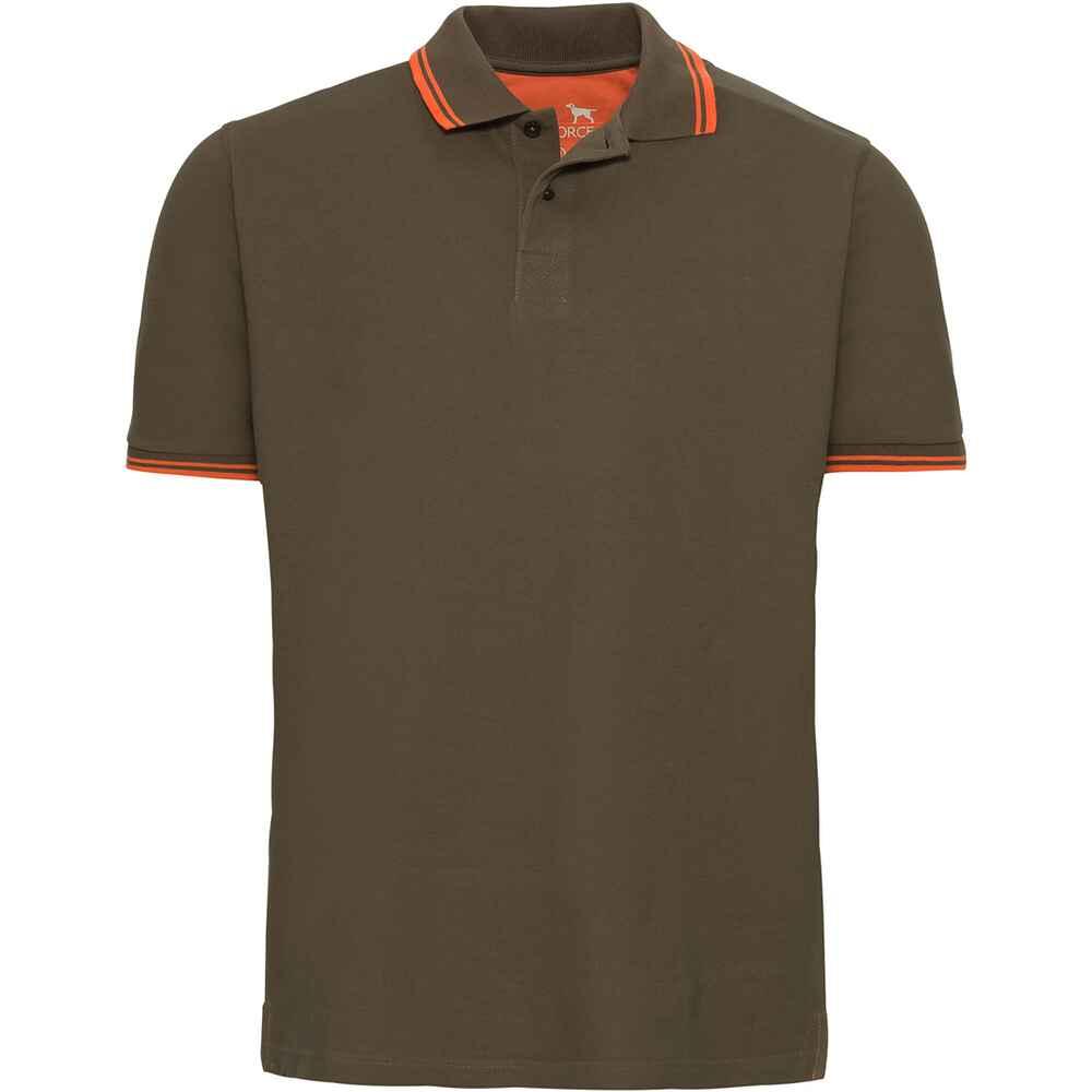 parforce polo homme manche courte olive olive orange t shirts polos v tements de. Black Bedroom Furniture Sets. Home Design Ideas