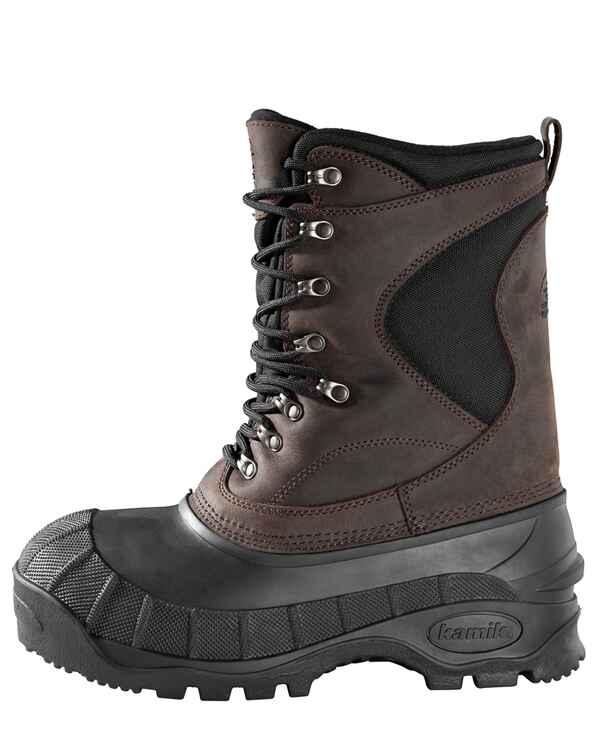 kamik botte d hiver kamik cody marron chaussures v tements de chasse homme textile. Black Bedroom Furniture Sets. Home Design Ideas