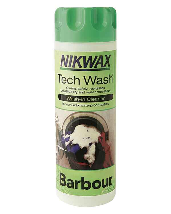 Nikwax Tech Wash, Barbour
