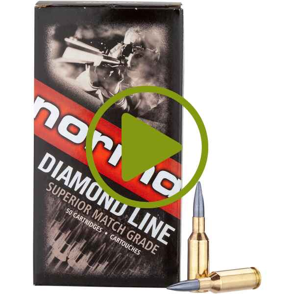 .6mm Norma BR, Diamond Line Berger Match (6,8gr), Norma