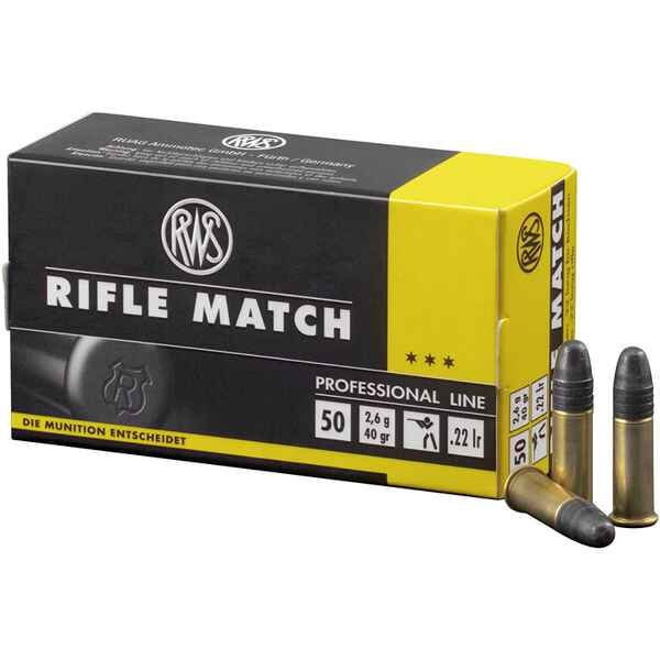.22 Long Rifle, Rifle Match, RWS