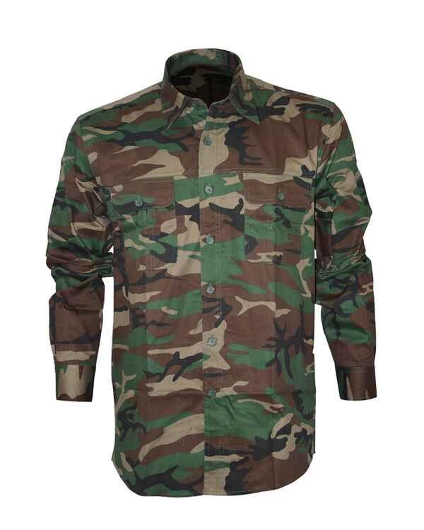chemise camouflage couleur s v tements camo v tements de chasse homme textile boutique. Black Bedroom Furniture Sets. Home Design Ideas