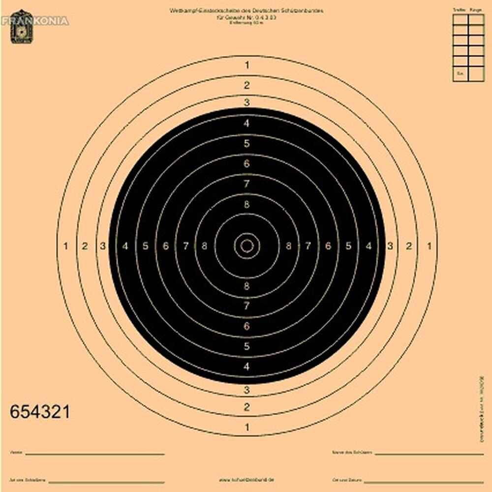 cible de comp tition carabine 50m accessoires 50m tir sportif boutique en ligne. Black Bedroom Furniture Sets. Home Design Ideas