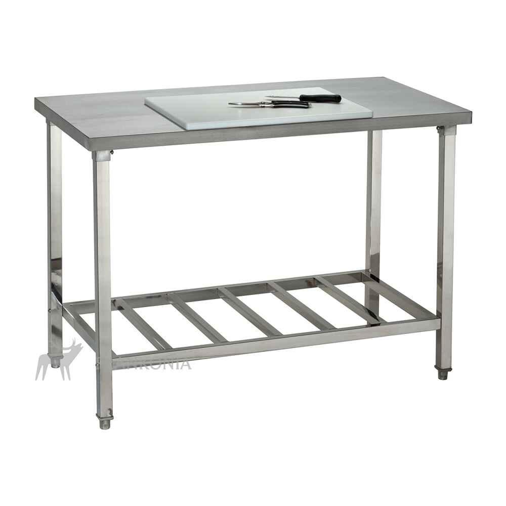 table de travail inox traitement du gibier hygi ne accessoires pour la chasse equipements. Black Bedroom Furniture Sets. Home Design Ideas