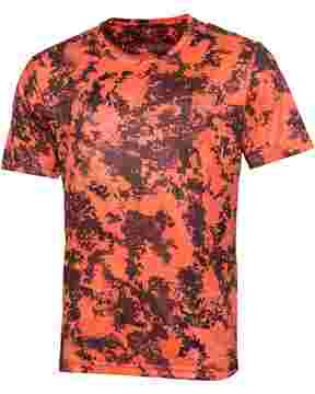 T-Shirt camo orange Tecl-Wood®, Parforce