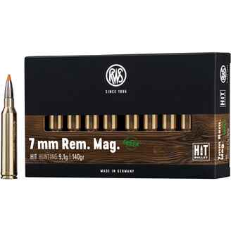 .7mm Rem. Mag., HIT (9,1gr), RWS