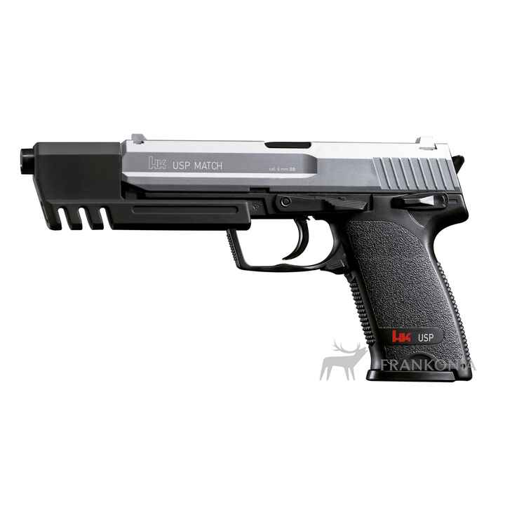 Pistolet Air Soft USP Match / cal. 6 mm BB, Heckler & Koch