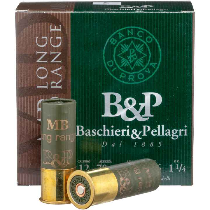 12/70, MB long range (36gr-2,9mm), Baschieri & Pellagri