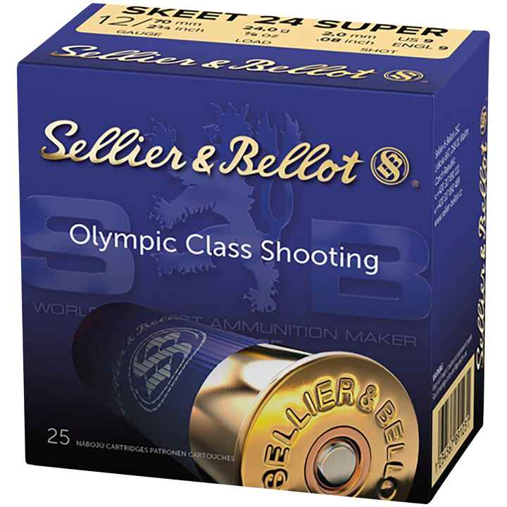 12/70, Super Skeet (24gr-2mm), Sellier & Bellot