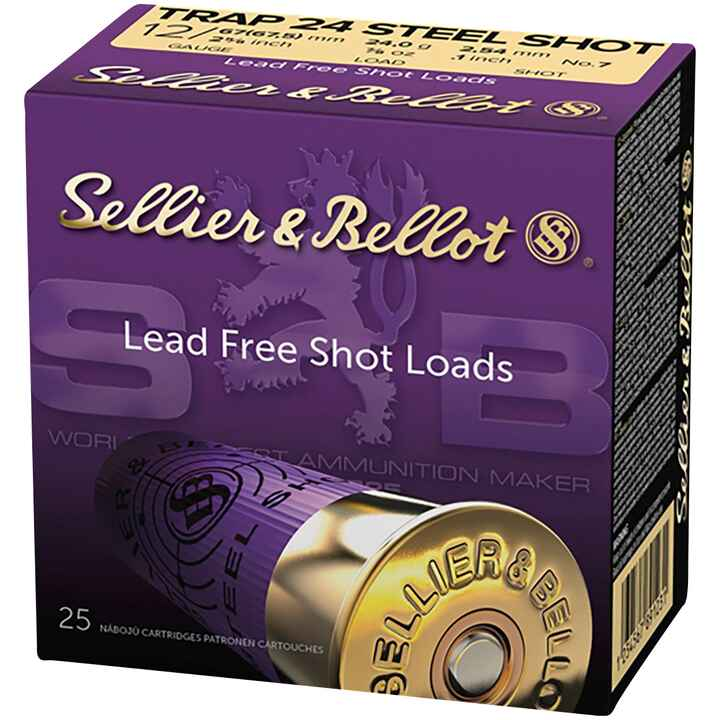 12/67,5, Steel Skeet Trap, (24gr-2,5mm), Sellier & Bellot