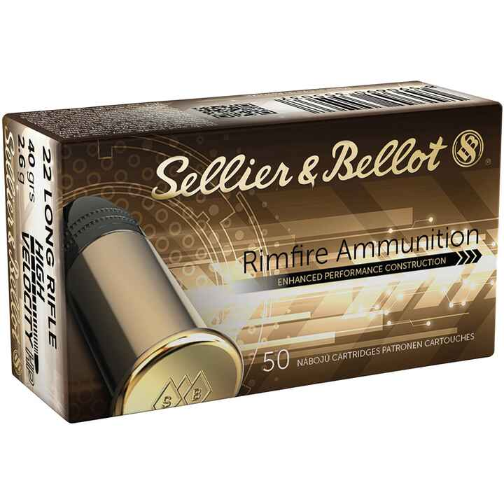 .22 lr. HV HP, Sellier & Bellot