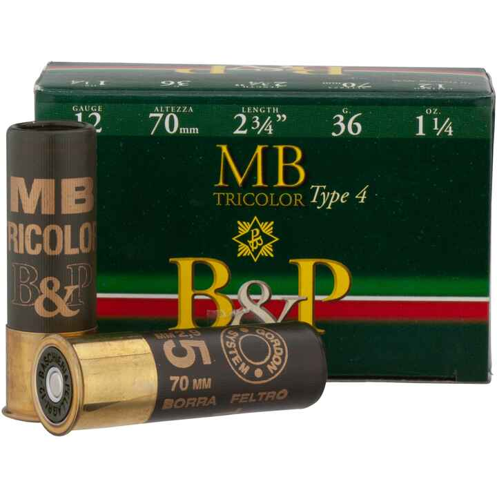 12/70, Tricolor (36gr-2,9mm), Baschieri & Pellagri